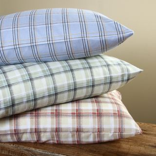 Winter Nights 140 GSM Plaid Twin/ Full size Flannel Sheet Set