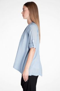 James Perse Open Draped Shirt for women
