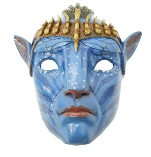 Jake Sully NaVi Head Strap Avatar Movie Mask