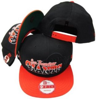 San Francisco Giants Black/Orange Two Tone Plastic