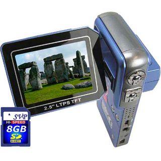 SVP HDDV 3000 D1 Quality Blue Camcorder Kit