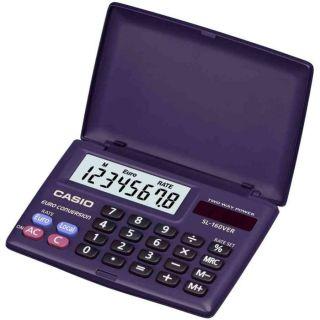 poche SL 160 VER, solaire/piles   CASIO calculatrice de poche SL 160