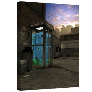 Art Wall Cynthia Decker Phone Booth Gallery Wrapped Canvas Today $