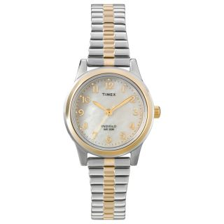 Timex Womens T2M828 Elevated Classics Dress Stainless Steel Expansion