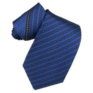 Versace Mens Greek Key Silk Tie