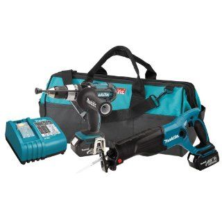 Makita LXT221 18 Volt LXT Lithium Ion Cordless Two Piece Combo Kit
