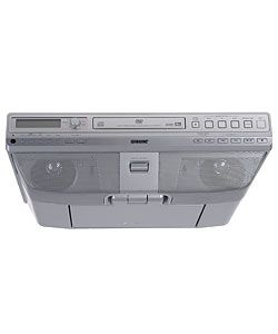 Sony ICF DVD57TV Under the Cabinet LCD TV DVD/CD Clock Radio