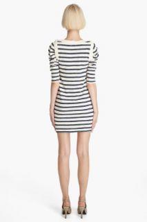 Juicy Couture Slub Stripe Jersey Dress for women