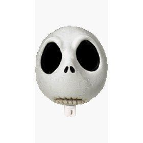 Nightmare Before Christmas Jack Skellington Head Night