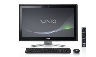 Sony VAIO VPC L222FX/B 24 Inch Desktop (Black): Computers