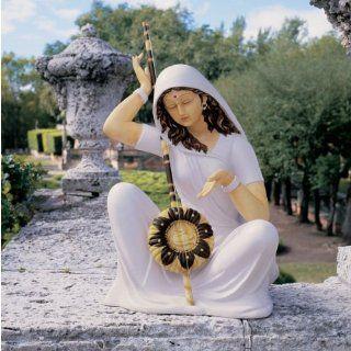 29 Indian Hindu Musical Singer Goddess MeeraBai Sculpture
