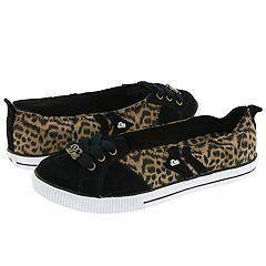 DVS Shoe Company Regency Slip W Black Leopard(Size 11 B   Medium