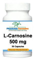 L Carnosine Supplement 500 Mg, 30 Caps   Endorsed By Dr