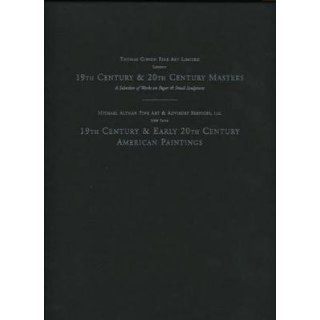 19th & 20th Century Masters and American Paintings 2 Volumes in Slip