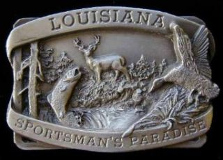 Louisiana Belt Buckle Clothing