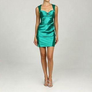 Hailey Logan by Adrianna Papell Juniors Ruche Zip Dress