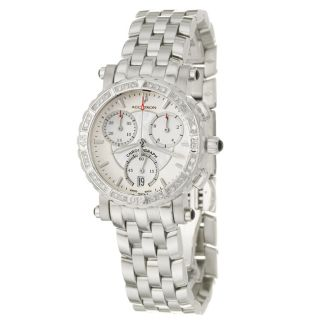 Accutron Courchevel Womens Mother of Pearl Stainless Steel