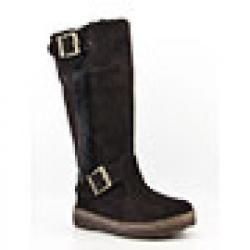 Bearpaw Woodbury II Womens Brown Chocolate Winter Boots (Size 8