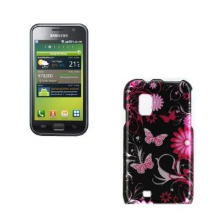 Samsung Fascinate I500 Pink Butterfly Case