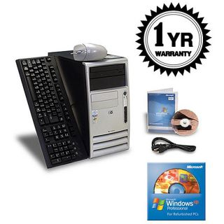 HP D325 2.13Ghz 512MB 80GB CDRW XP MT Computer (Refurbished