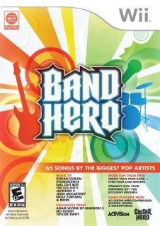 Wii   Band Hero featuring Taylor Swift   Stand Alone Software (Pre