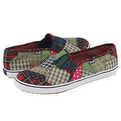 Keds Champion Mosaic Slip On Multi Plaid