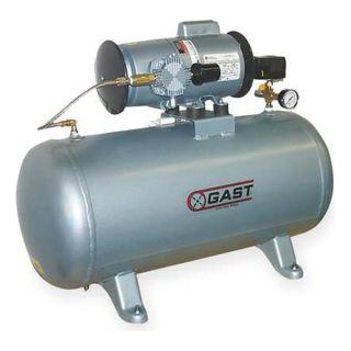 Gast 4LCB 246T M450GX Piston Air Compressor, 1/2 HP, 3.1 CFM