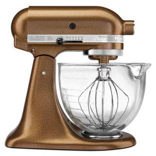 KitchenAid KSM155GBQC Antique Copper Glass Bowl Artisan Design Series