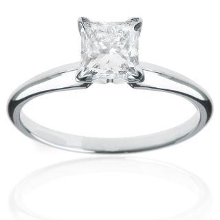 14k Gold 1/4ct TDW Certified Diamond Engagement Ring (H I, I1