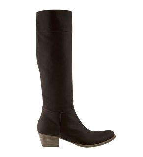 Miu Miu Womens Leather Riding Boots