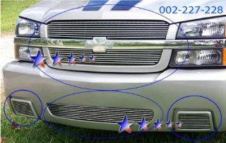 03 04 05 Chevy Silverado SS Billet Grille Combo :