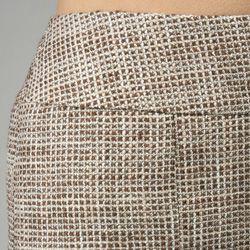 Lafayette 148 Womens Delaine Tweed Lola Skirt