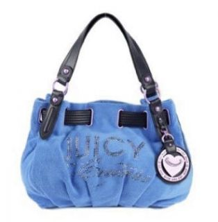 Juicy Couture Terry Freestyle Heart Charm Satchel Shoulder