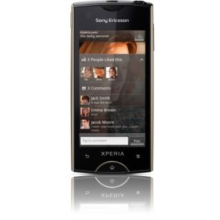 Sony Ericsson XPERIA ray Smartphone   Wi Fi   3.5G   Bar   Champagne