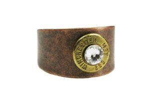 Copper Winchester 223 Bullet Ring Jewelry