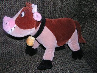 Disney Home on the Range 12 Plush Poseable Maggie the Cow
