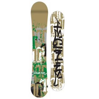 Technine Split T Splatter Gold 149 Mens Snowboard