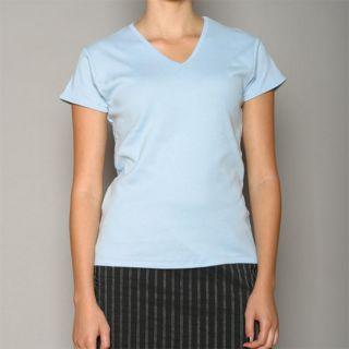 Golftini Womens Blue V neck Golf Shirt Today $21.99