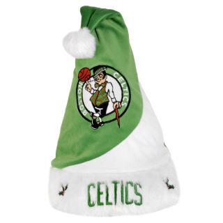 Boston Celtics Polyester Santa Hat