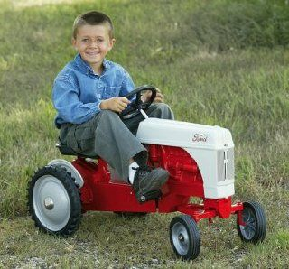 8N Pedal Tractor Red / Cream, Compare at $230.00: Sports & Outdoors