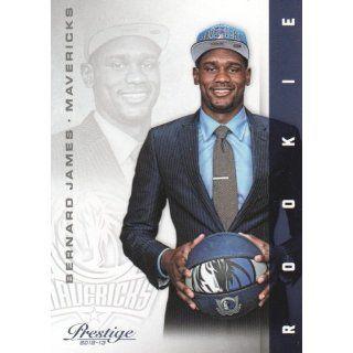 2012 13 Panini Prestige Basketball #231 Bernard James RC