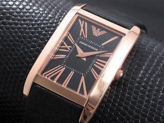 Armani Super Slim Black Dial Womens watch #AR2035 Watches