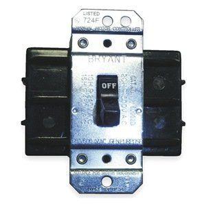 Manual Motor Switch, 60A, 600V, 3 Pole