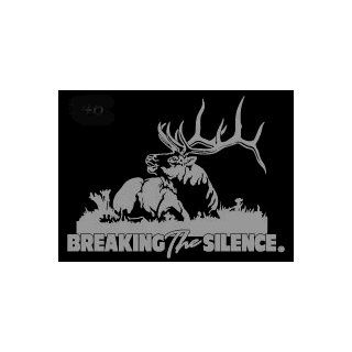 Breaking the Silence Upstream Images Silver Vinyl Wildlife Car Truck