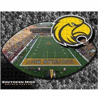 NCAA Southern Miss Golden Eagles 500 Piece Stadium Puzzle