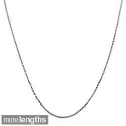 Fremada 14k White Gold Round Wheat Chain (16 20 inch) Today $129.99