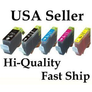 Canon Pgi 225 Cli 226 Ink Cartridges W/chip: 5 Pack By