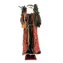 60 inch Decorative Plush Christmas Santa Claus