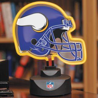 Minnesota Vikings Neon Helmet Lamp
