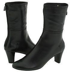 Vaneli Anny Black Calf Boots